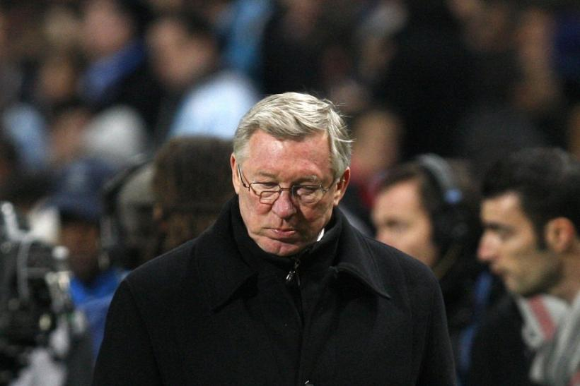 Ferguson's absence could seriously dent United's title hopes.