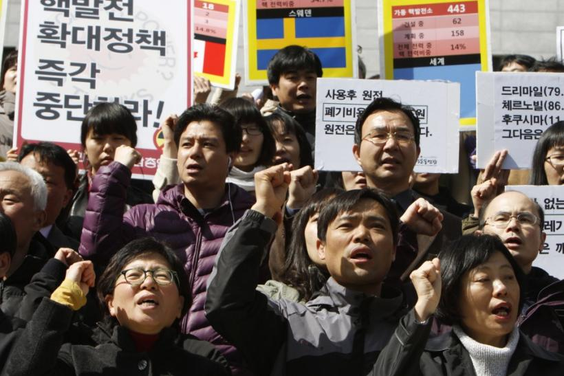 Protests Continue in South Korea - Crippled Fukushima Nuclear Power Plant in Quake-torn Japan Sends Waves Across the World
