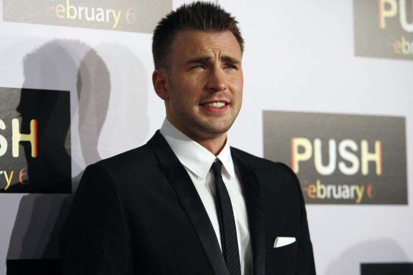 Chris Evans, cast as Captain America in Marvel's Captain America: The First Avenger