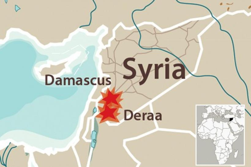Clashes in Syria have spread across the country, but the focal point remains the town of Deraa in the south.