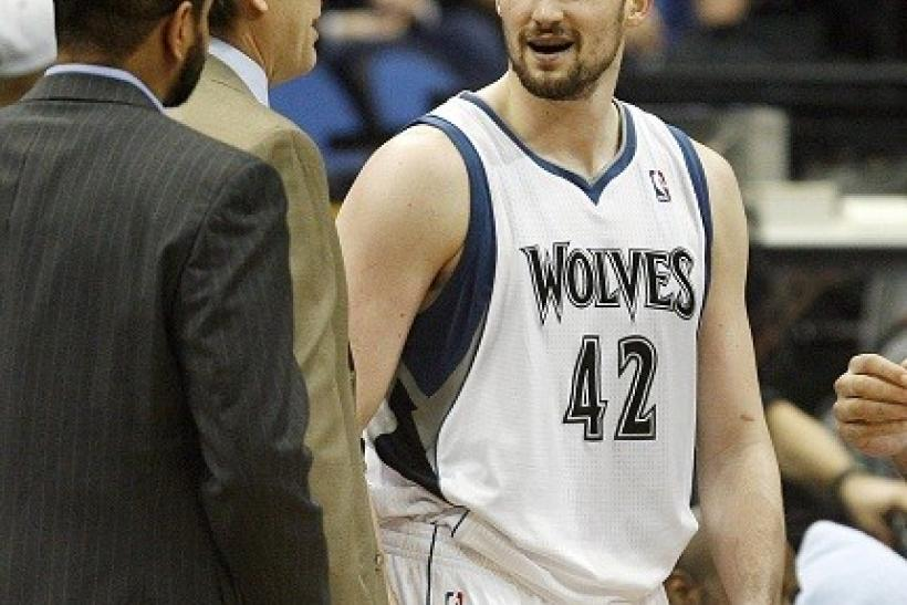 A strained groin continue to hamper Kevin Love