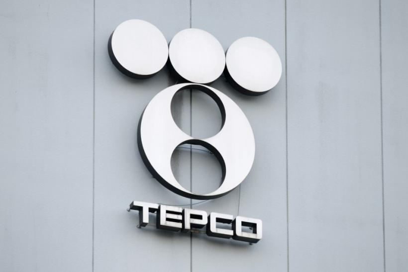 File photo of logo of TEPCO at its Shinagawa thermal power station in Tokyo