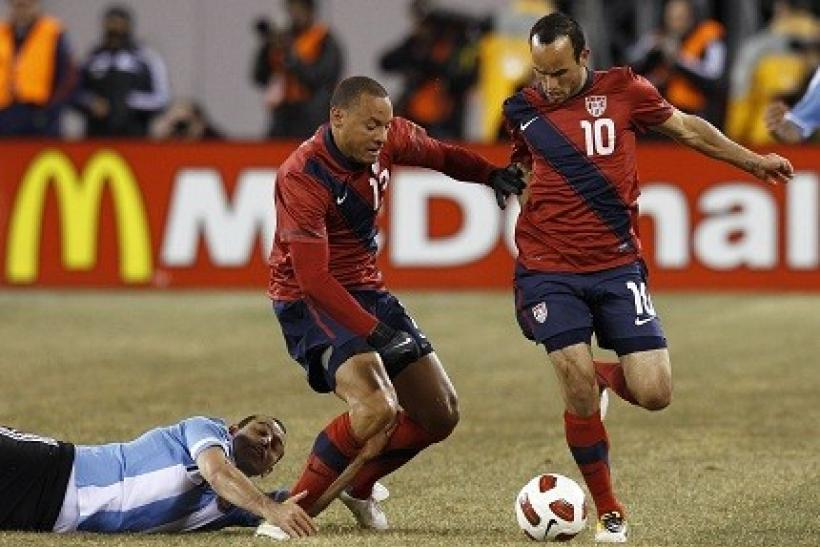 The U.S. is coming off a tie with Argentina