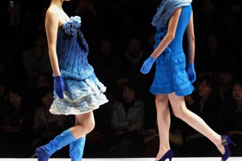 China Fashion Week in Beijing