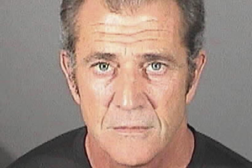 Handout of Mel Gibson in a booking photo from the El Segundo police department