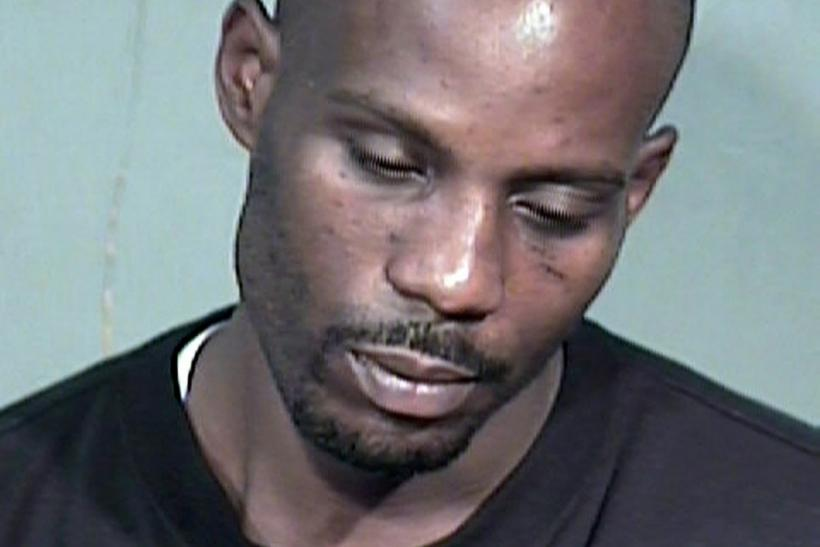 "Rapper Earl ""DMX"" Simmons is shown in this Maricopa County Sheriff's Department booking photograph"