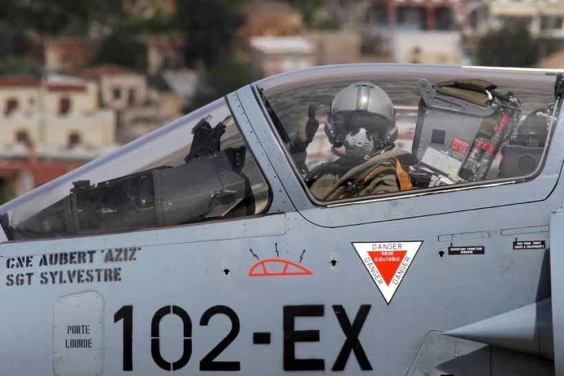 A French pilot in a French Mirage 2000