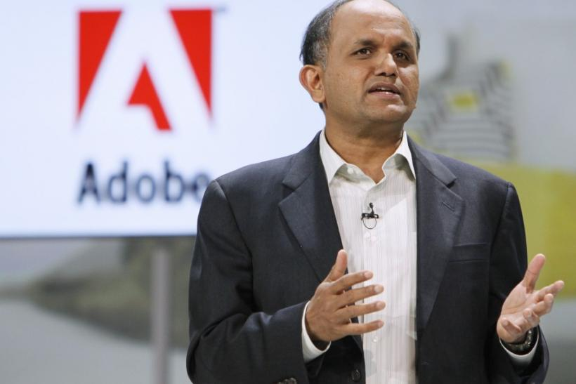 The CEO of Adobe Systems, Shantanu Narayen
