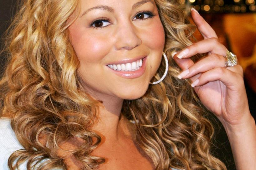 US singer Mariah Carey poses during a photocall in Munich