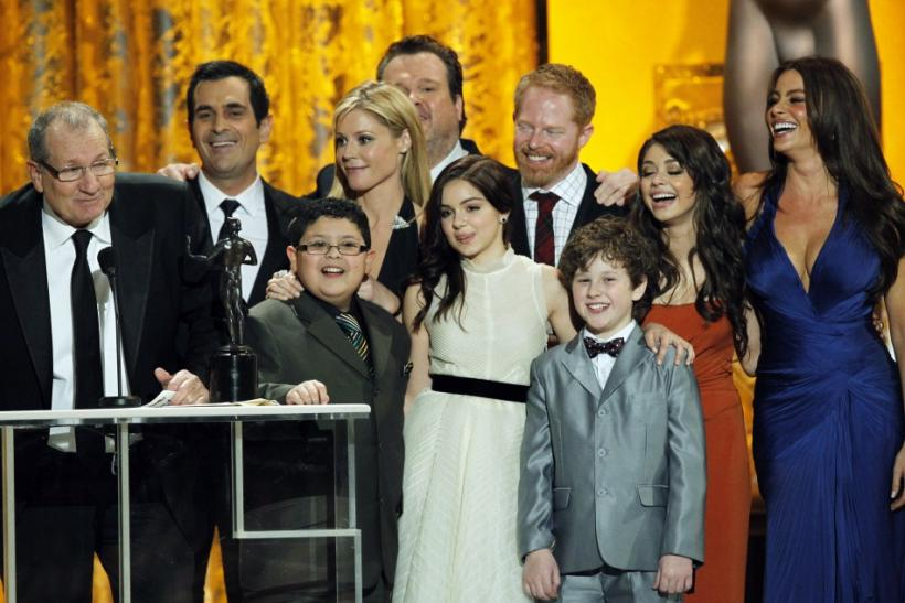 "The ""Modern Family"" cast is ready to get back to work."