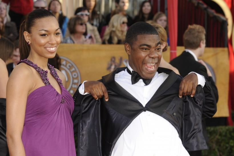 "Actor Tracy Morgan from the comedy series ""30 Rock"" and girlfriend Tanisha Hall pose at the 16th annual Screen Actors Guild Awards in Los Angeles January 23, 2010."