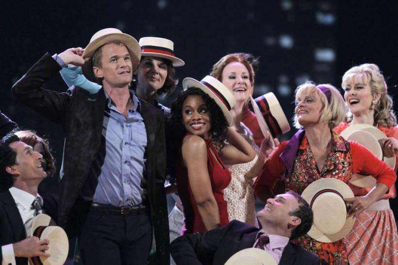 Host Neil Patrick Harris performs in a scene from the musical 'Company' during the American Theatre Wing's 65th annual Tony Awards ceremony in New York