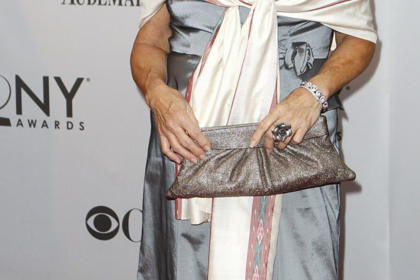 Actress Tyne Daly arrives for the American Theatre Wing's 65th annual Tony Awards ceremony in New York