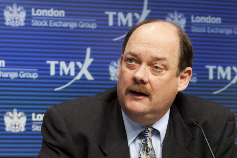 TMX Group CEO Tom Kloet speaks during a news conference in Toronto
