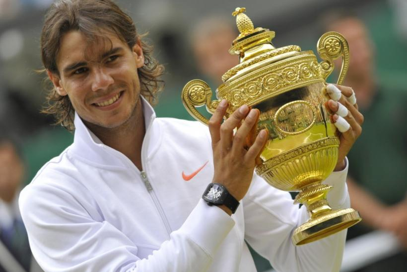 Nadal will open his title defence against American Michael Russell.