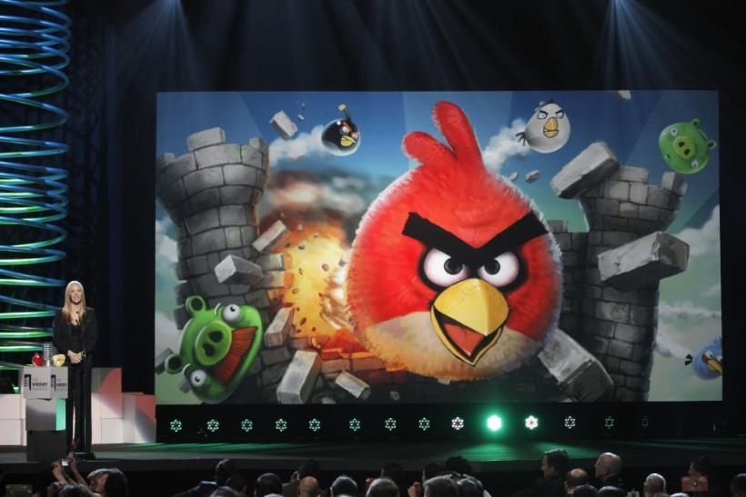 Angry Birds has won Best Mobile Game award at the 15th annual Webby Awards in New York