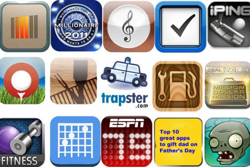 Top 10 great apps for dad on Father's Day