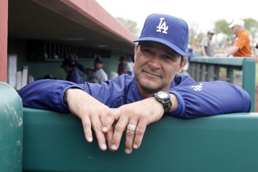 donnie baseball don mattingly dodgers manager