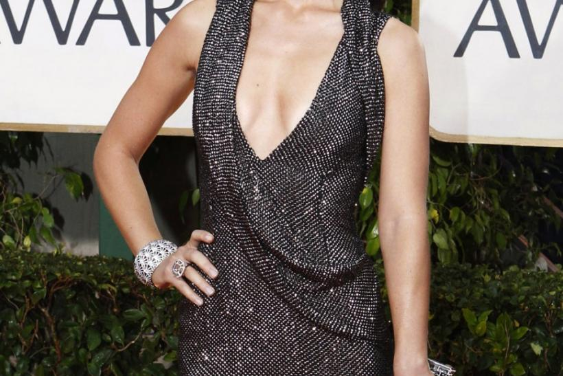 "Actress Olivia Wilde from the TV show ""House"" arrives at the 67th annual Golden Globe Awards in Beverly Hills"