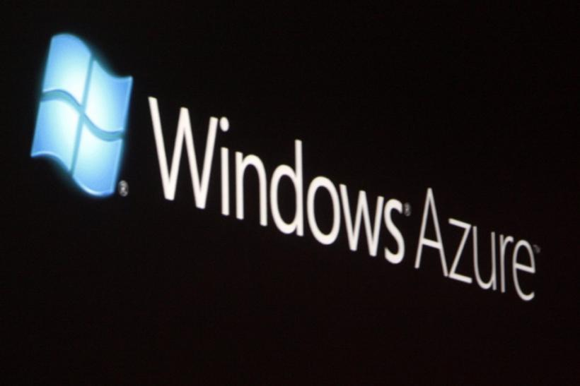 A brief look at Windows Azure