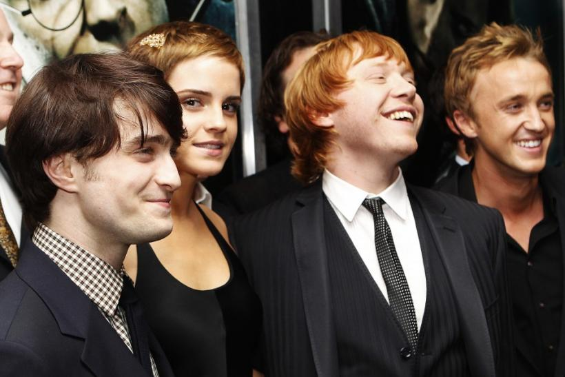 Stars of Harry Potter and the Deathly Hallows Part 2