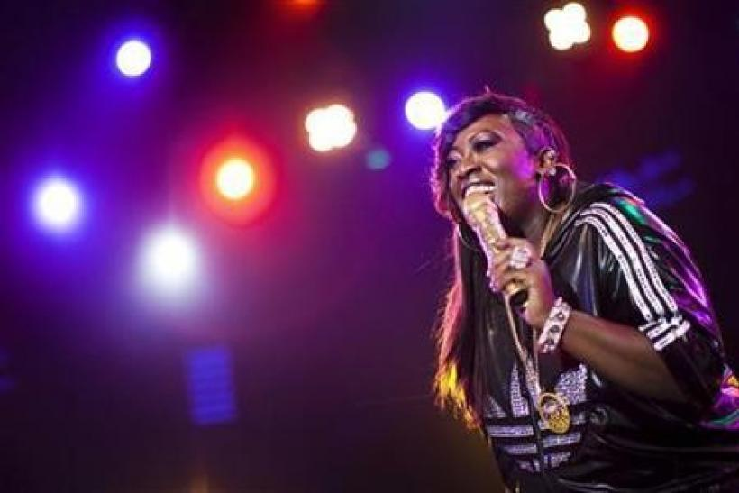 U.S. hip-hop singer Missy Elliott performs onstage during the 44th Montreux Jazz Festival in Montreux July 5, 2010.