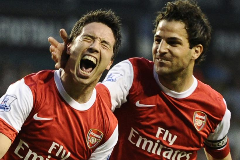 Nasri and Fabregas