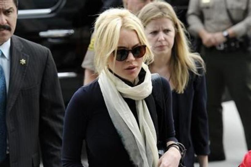 Lindsay Lohan ends home detention after 35 days
