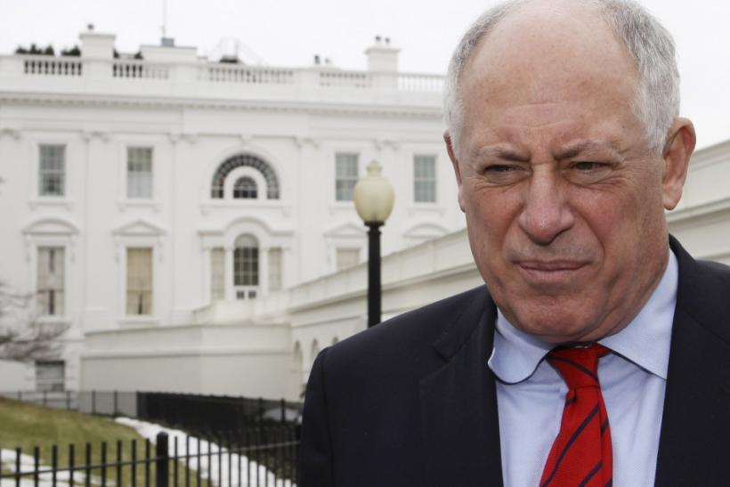 Illinois Governor Quinn speaks after National Governors Association meeting at the White House in Washington