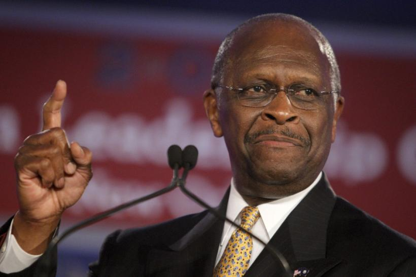 2012 GOP Presidential Candidate Herman Cain