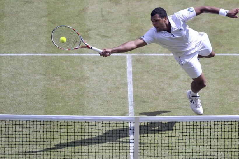 Jo-Wilfried Tsonga of France