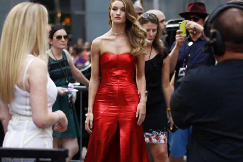 Rosie Huntington-Whiteley's Fashion Evolution through the Year