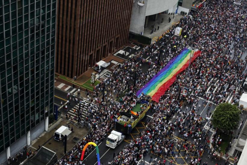 15th Gay Pride Parade in Sao Paulo.