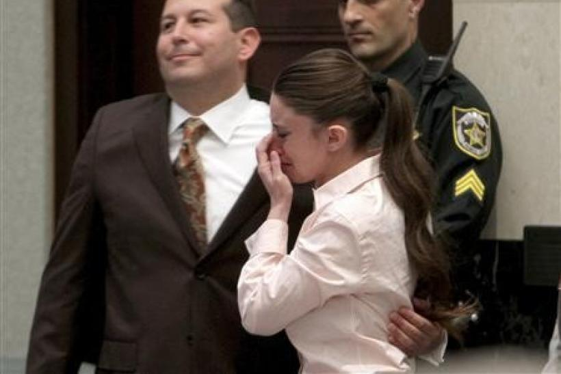 Casey Anthony's Lawyer, Jose Baez, Hugs Casey After She Is Set Free