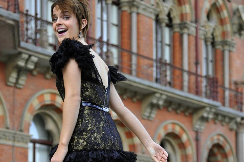 Harry Potter actors attend a photocall outside of St Pancras Station and hotel in central London