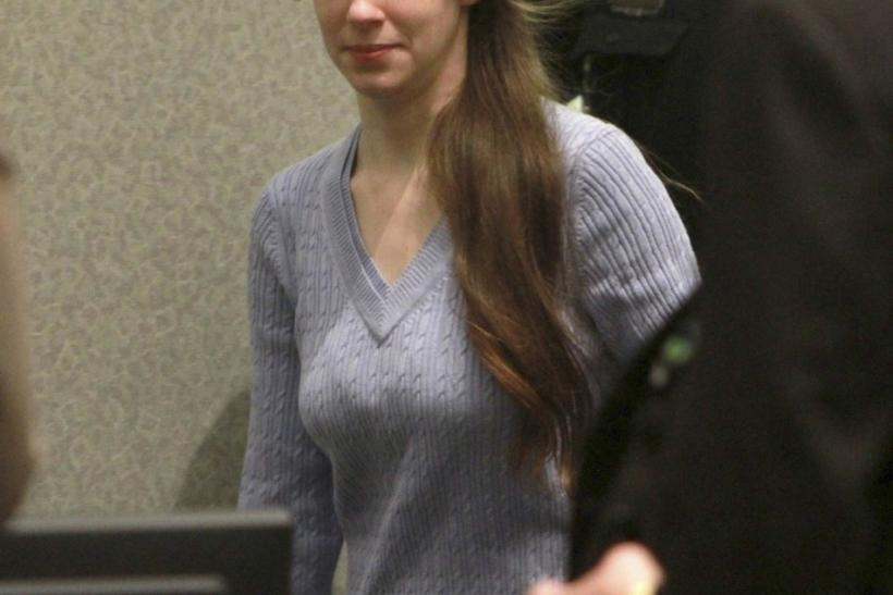 Casey Anthony enters the court for her sentencing at the Orange County Courthouse in Orlando, Florida, July 7, 2011.