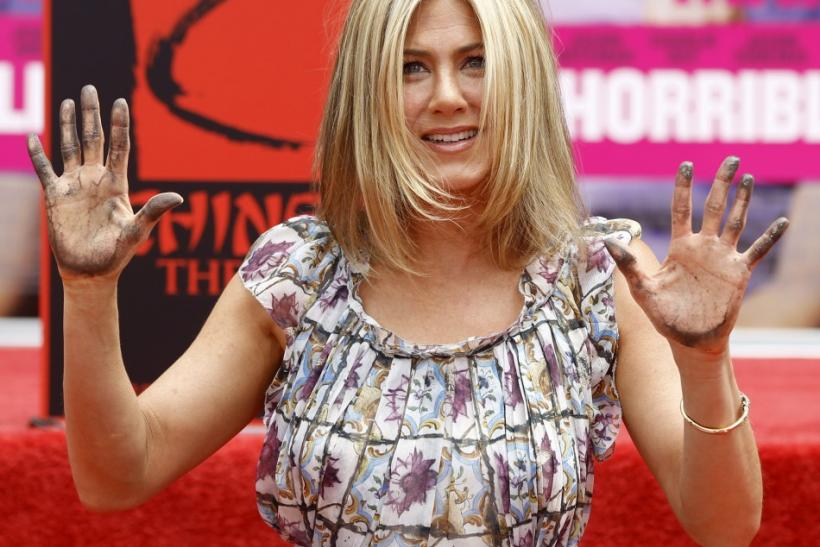 Jennifer Aniston Gets Hollywood Handprint
