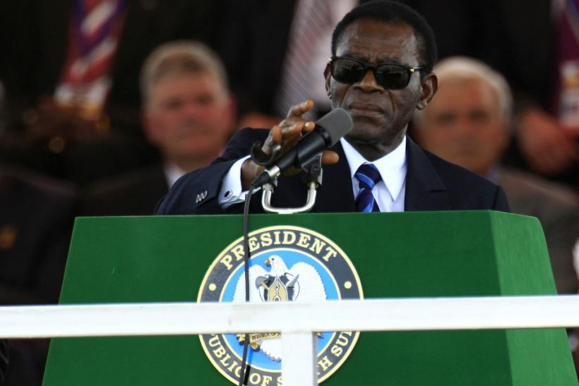 African Union Chairperson and Equatorial Guinea's President Teodoro Obiang Nguema Mbasogo
