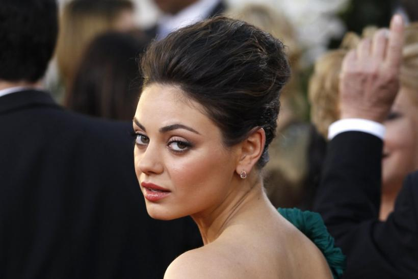 15 Celebrities With Diffe Colored Eyes Mila Kunis 1