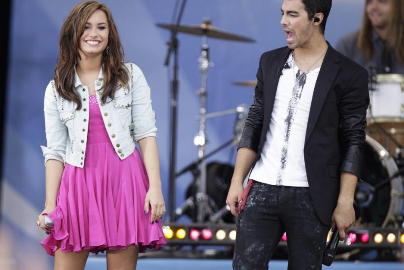Demi Lovato and Joe Jonas