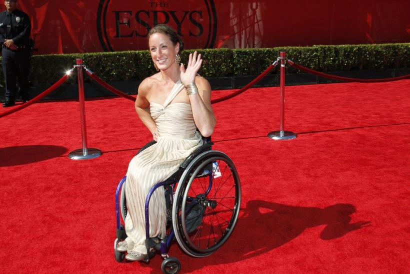 Tatyana McFadden, nominated for an ESPY Award for Best Female Athlete with a Disability in track & field