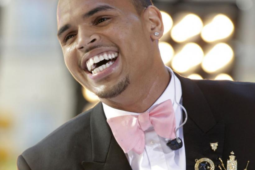 Singer Chris Brown performs on NBC's 'Today' show in New York