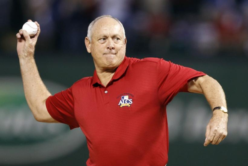 Former Texas Rangers pitching great Nolan Ryan