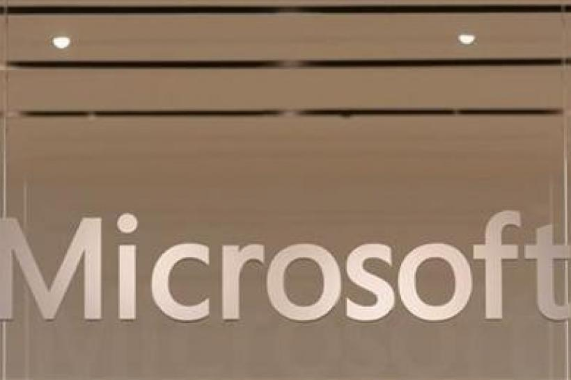 The Microsoft logo