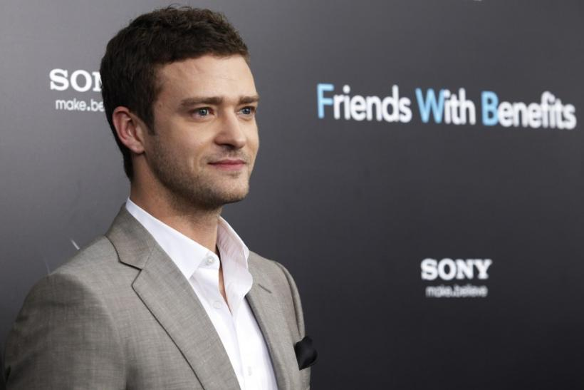 "Cast member Justin Timberlake arrives at the premiere for ""Friends With Benefits"" in New York City"