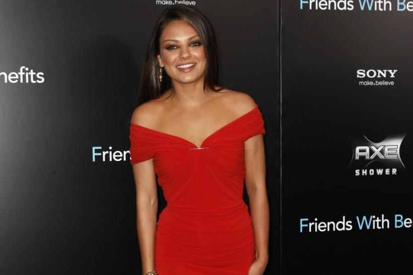 "Cast member Mila Kunis arrives at the premiere for ""Friends With Benefits"" in New York City"