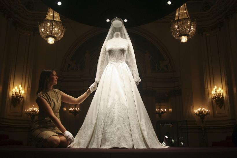 Royal Wedding Dress on Display