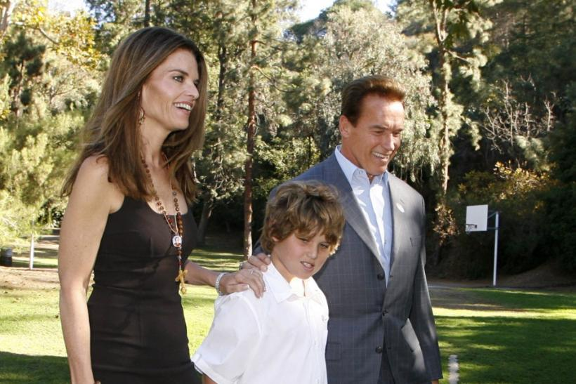 Arnold, Maria: Christopher Schwarzenegger Will Recover (Family Photos)