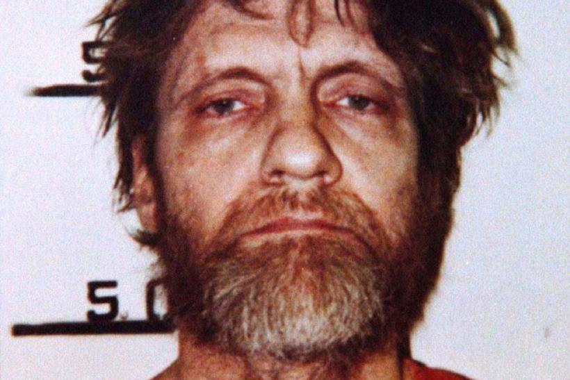 File photo of a booking mugshot of Ted Kaczynski