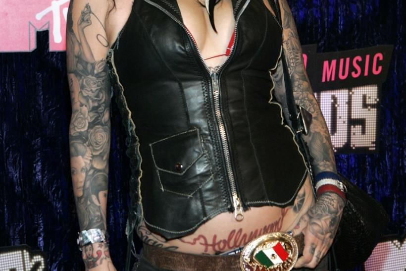 Reality TV show star Kat Von D